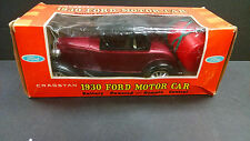 """CRAGSTAN VINTAGE, BATTERY OPERATED 1930 FORD """"A"""" COUPE HARD-TOP W/BOX & WORKING"""