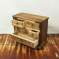 Japanese Dollhouse Miniature Furniture -WheelChest 1:12