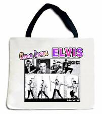 Personalized ELVIS TOTE BAG Any Name & Message Printed Great Gift
