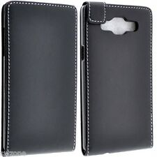 FOR SAMSUNG GALAXY A5 PU LEATHER CASE COVER FLIP POUCH SMART FITTED SKINS