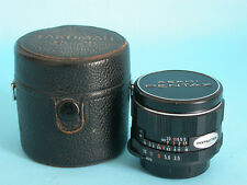 "Asahi Pentax Super-Multi-Coated Takumar 28mm f:3,5 Lens ""INSPECTED"" COLLECTIBLE"