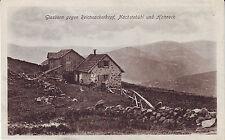 France Vosges - Glasborn gegen Reichssackerkopf  Nachstebuhl u. Hohneck postcard