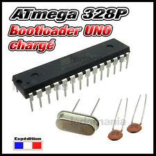 ATmega 328p bootloader arduino UNO  + quartz 16MHz + condensateur 22pf