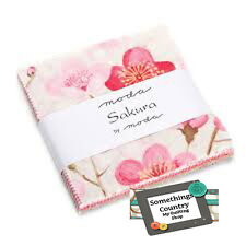 Moda Charm Pack SAKARA Patchwork Quilt 5inch Squares Japanese Fabric New