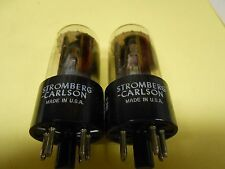GE 7355 Vacuum Tubes Amplitrex Matched for Emission and Conductance Strong