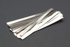 "100x 4"" Pure Nickel Battery tabs for welding or soldering Duty DIY Pack 0.1 *4mm"