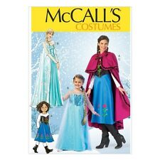 McCall's Costumes M7000 Frozen Dresses for Kids - Sizes 3-14 - FREE US SHIPPING