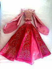 "Disney Pink Aurora Sleeping Beauty Doll Dress - Fits 16-17"" Tonner Ellowyne Wild"