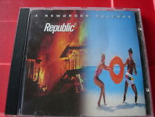 New Order Republic CD Regret/World/Spooky/Ruined In A Day+