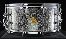 Gretsch NEW CLASSIC 6.5x14 10-PLY Maple Snare Drum SILVER METALLIC - NEW