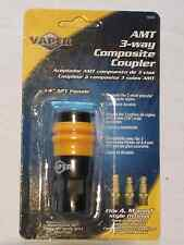 """Vaper Universal Air Hose Coupler, 1/4"""" NPT, Fits A, M & T Style Fittings #19304"""