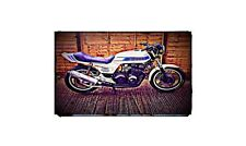 1981 cb900f Bike Motorcycle A4 Retro Metal Sign Aluminium