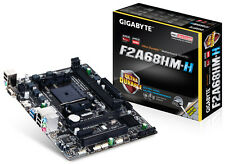 GIGABYTE GA-F2A68HM-H FM2+ AMD A68H/rev 1.1 Motherboard(Free Expedited Shipping)