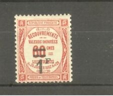 """FRANCE STAMP TIMBRE TAXE N° 53 """" 1F SUR 60c ROUGE """" NEUF xx TTB"""