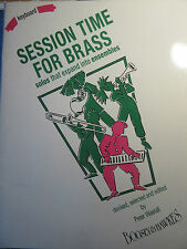 SESSION TIME FOR BRASS Keyboard Accompaniments ed. Wastall pub. Boosey & Hawkes