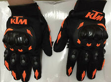 XTREME KTM Duke 390/RC390 Inspired Motorcycle Motocross Racing Gloves (XL SIZE)