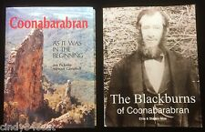 Coonabarabran Pioneers Squatters Belar Signed + Blackburn Family History 2 BOOKS