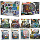 Beyblade 4D Metal Master Fusion Top Rapidity Fight Launcher Grip Set Toy & Game