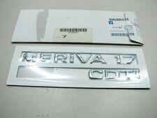 ORIGINAL OPEL MERIVA 1.7 CDTI Schriftzug 9318397 NEU