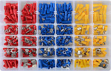 480 Pcs insulated Wire Connector Crimp Terminal Assortment Kit AU