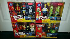 Simpsons WOS Treehouse Of Horror 1 2 3 4 LOT Cemetery Spaceship Ironic Lair MISP