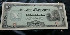 Willie: Japanese Government 10 Pesos