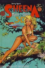 Sheena : Queen of the Jungle 3-D Special #1 ~ Jerry Iger ~ Blackthorne