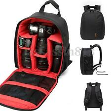Waterproof  Digital DSLR Camera Shoulder Bag Backpack Case For Canon Nikon Sony