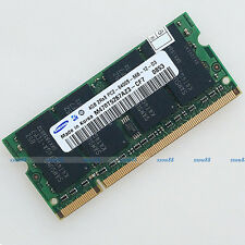 Samsung 4GB PC2-6400 DDR2 800 800Mhz 200pin Laptop Memory SODIMM Notebook RAM