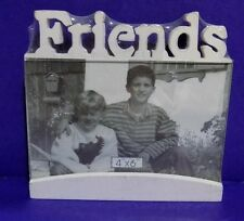 "FRIENDS  Carved Wooden Picture Frame "" NEW """