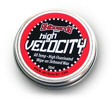Skiboards.com High Velocity Wipe-On Wax for Skis, Snowboards and Skiboards