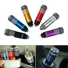 NT Mini Auto Car Fresh Air Ionic Purifier Oxygen Bar Ozone Ionizer Cleaner
