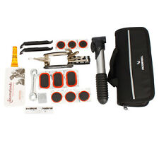 New Set of Bicycle Bike Cycling Repair Tools Kit with Pump Box Black Bag