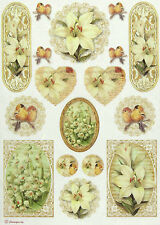 Ricepaper / Decoupage paper, Scrapbooking Sheets Lily