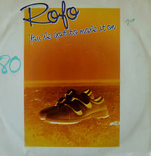 "7"" 80s BELGIUM PRESS RARE VG++ ! ROFO : You´ve Got To Move It On"