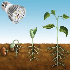 18W Grow Light Bulb Full Spectrum LED Flower Plant Veg Garden Hydroponic Lamp