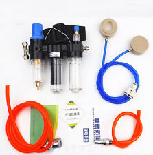 3 in 1 Function Supplied Air Fed Respirator System For 3M6800 Full Face Gas Mask