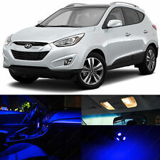 10x Blue SMD LED Lights Interior Package Kit for 2010 - 2015 Sportage