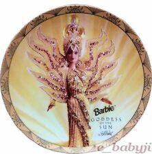 Barbie Collectors Plate Goddess of the Sun Ltd Edition Bob Mackie Enesco8 1/4""