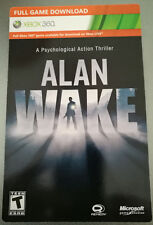 Alan Wake (Xbox 360) Full Game Download Card - Fast Delivery