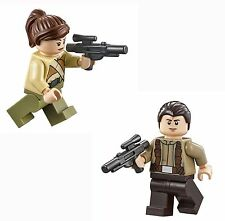 LEGO STAR WARS Resistance Soldier lot of 2 MINIFIG new from Lego set #75103