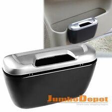 Silver Trash Can Carbage Storage Box Environmental Collect Organize For Honda