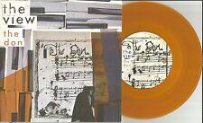 THE VIEW The Don w/ RARE LIVE Fireworks ORANGE UK 7 INCH Vinyl USA SELLER 2007
