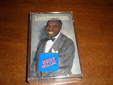 Louis Armstrong CASSETTE 16 Most Requested Songs NEW