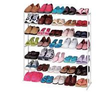 35 Pair 7 Tier Modern Shoe Organizer Stand Tower Holder Shoe Rack Storage New