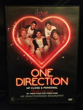 ONE DIRECTION ~ UP CLOSE & PERSONAL ~ DVD ~ **FREE POST