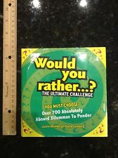 Would You Rather...? The Ultimate Challenge hardcover book