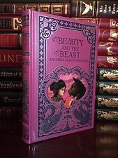 Beauty and the Beast & Other Classic Fairy Tales New Sealed Deluxe Leather Bound