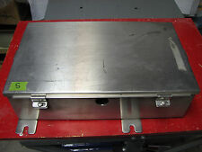 "17"" x 10"" x 4"" STAINLESS STEEL ENCLOSURE NEMA 12 4 4X ELECTRIC PANEL BOX"