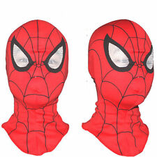 Super Hero Spiderman Mask Adult Kids Cosplay Fancy Dress Costume Halloween